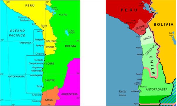 Antes y después de la Guerra del Pacífico