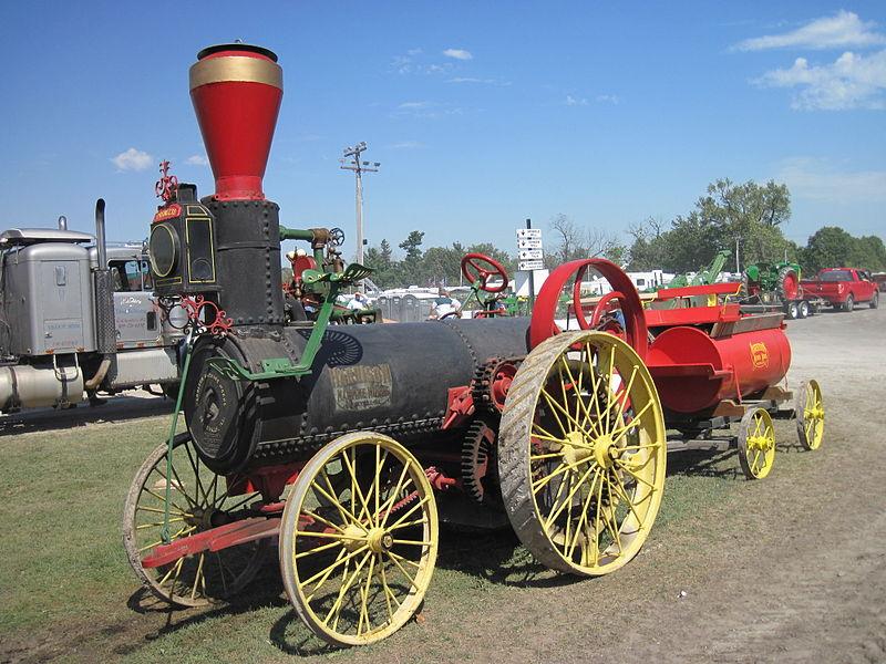 Tractor de vapor