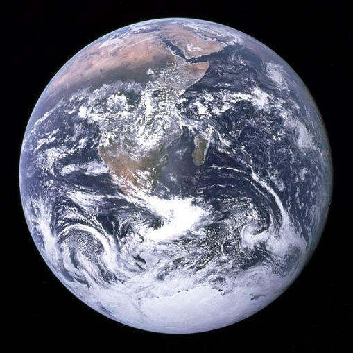 La Tierra desde el Apolo 17