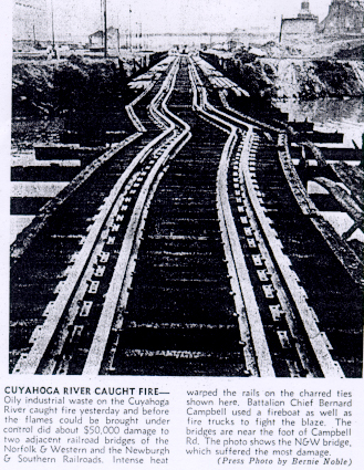 Daños puente Cuyahoga 1969
