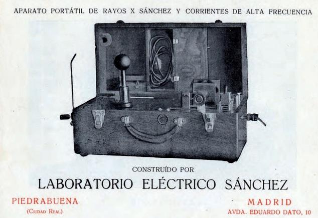 Aparato portátil de rayos X - Mónico Sanchez