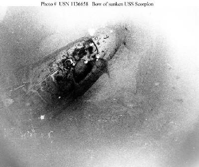 Submarino Scorpion accidente