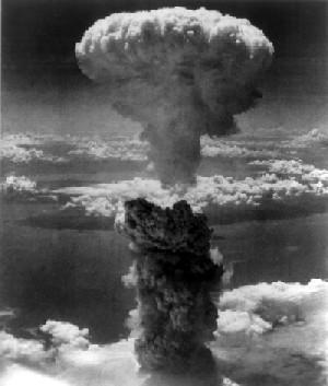 explosion de la bomba atomica en nagasaki